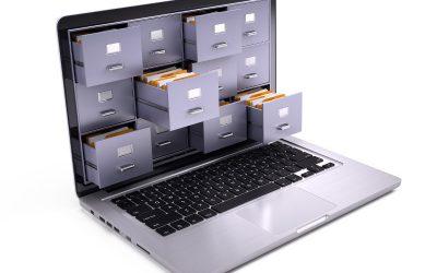 Wie funktioniert ein Online-Archiv?